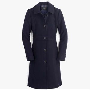 J. Crew Classic Italian Wool Coat